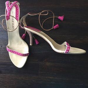 Burberry heeled sandals